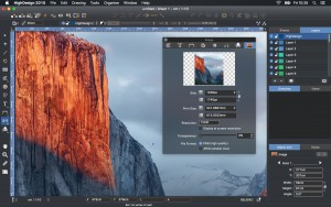 HighDesign 2015.2.1 and OS X 10.11 El Capitan